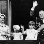Royal Family Waving