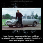 James Bond Makes An Arrest & Some Interesting Facts About Sean Connery