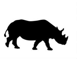 rhino-silhouette