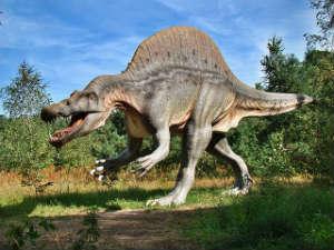dinosaur on 2 legs